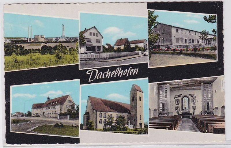 91411 Mehrbild AK Dachelhofen - verschiedene Ortsansichten 1964