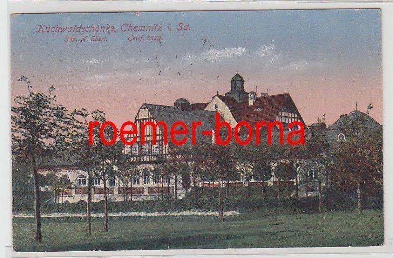 70654 Ak Küchwaldschenke Chemnitz in Sachsen 1921