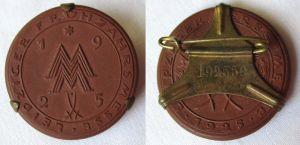 Einkäufer- und Ausstellerabzeichen Leipziger Frühjahrsmesse 1925 (125024)