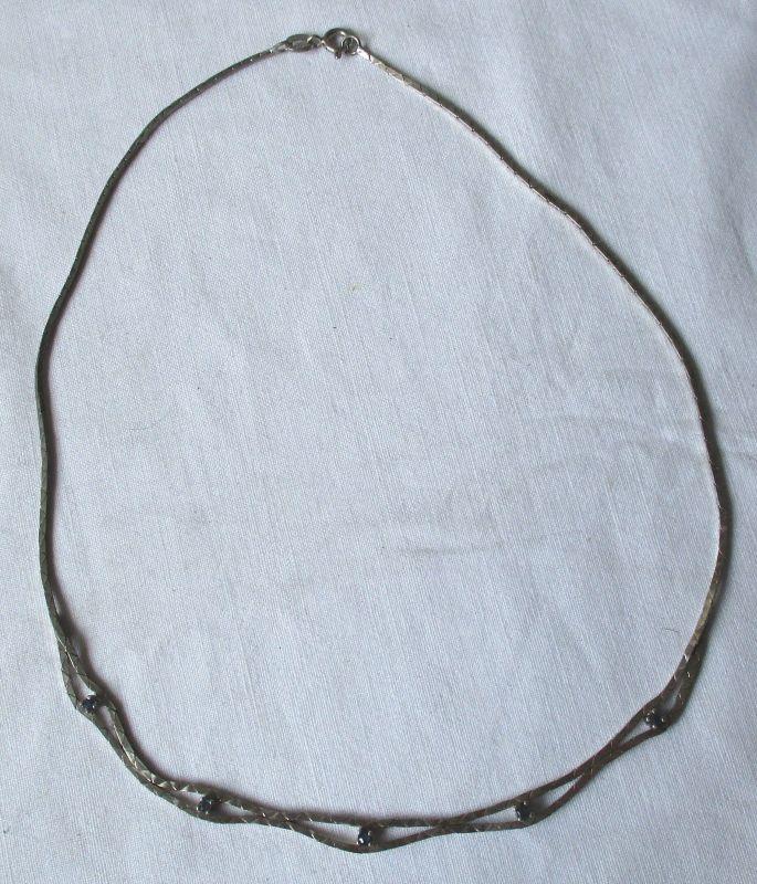 Hübsche 835er Silber Kette Länge 42,5 cm (112188)