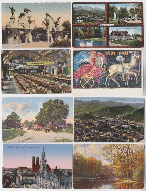 100 interessante alte Ansichtskarten um 1910-1940 (C) (62119)
