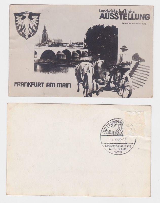 84994 Ak Frankfurt am Main landwirtschaftl. Ausstellung 29.8.-5.9.1948