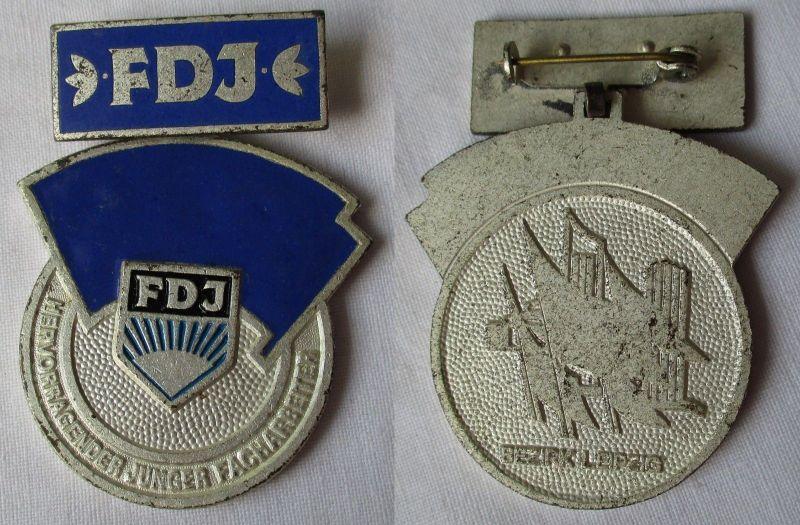 Seltener DDR Orden hervorragender Junger Facharbeiter FDJ (116869)