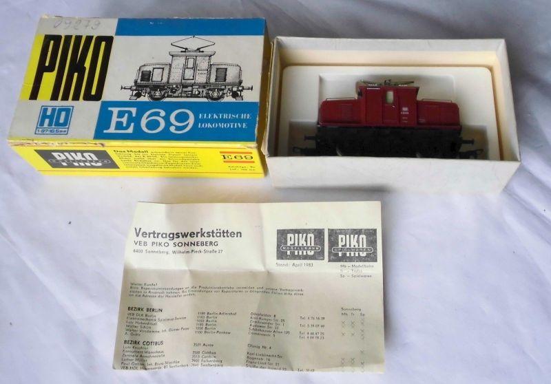 Piko E-Lok E 69 Spur H0 im Karton (106398)