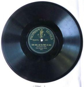 Schellackplatte Im Storchenhaus + Lieb mich u.d. Welt ist mein um 1930 (110847)