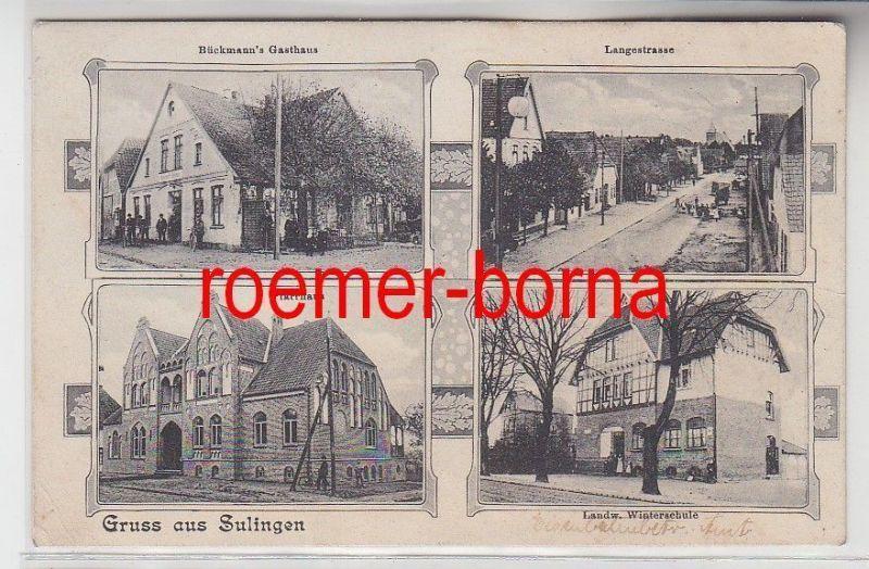 77901 Mehrbild Ak Gruß aus Sulingen Gasthaus usw. um 1910