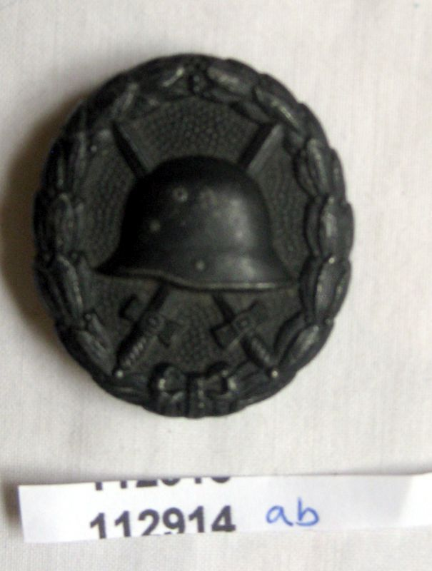 Verwundetenabzeichen Eisen Geschwärzt Für Heer U0026 Kolonialtruppen (112914) 0