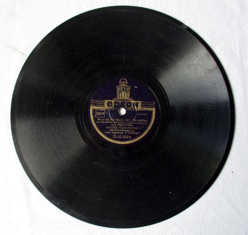 114384 Odeon Schellackplatte Heinz Rühmann Das kann doch einen Seemann nicht...