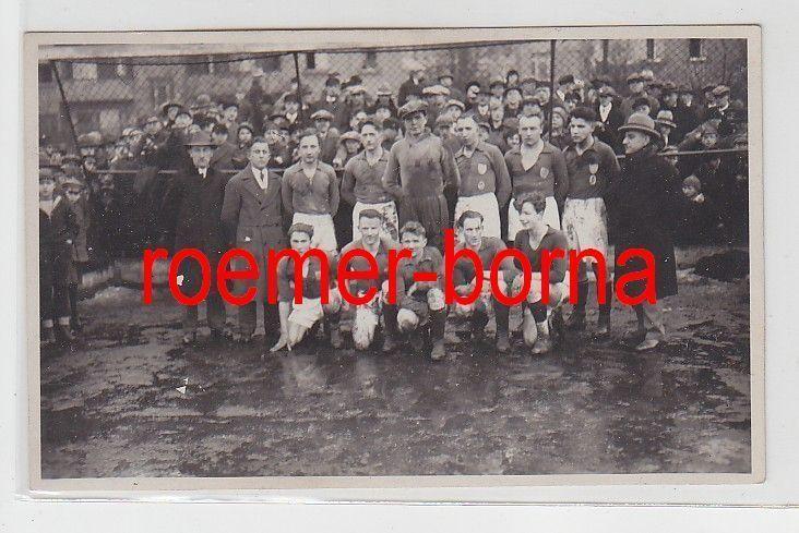 31969 Foto Chemnitz Fussballmannschaft um 1920