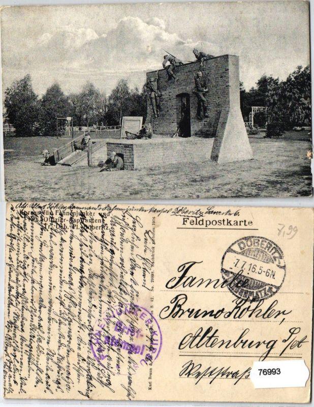 76993 AK Kursus für Fahnenjunker & Res.Offizier Aspiranten Tr. Ueb. Pl. Döberitz 0