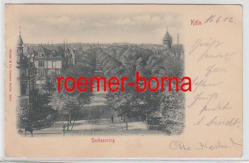 75810 Ak Köln Sachsenring 1902
