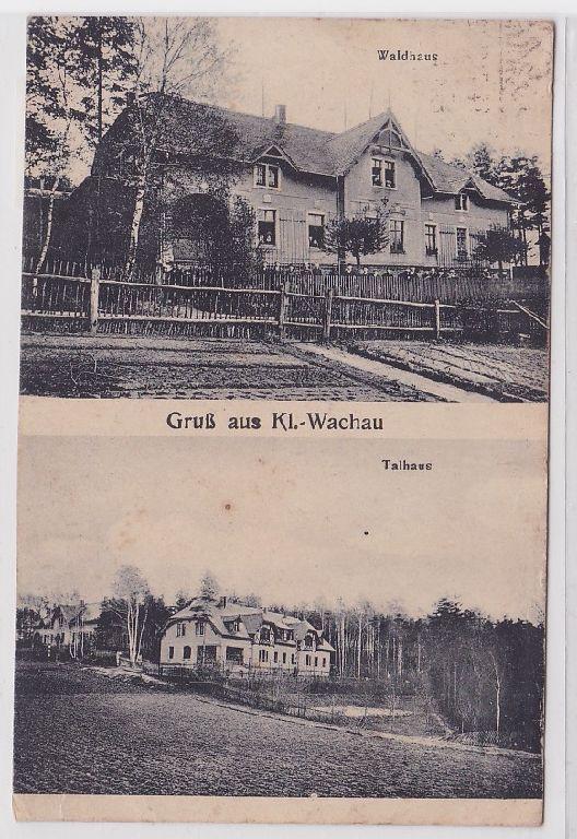 47573 Mehrbild Ak Gruß aus Klein-Wachau Waldhaus, Talhaus 1926