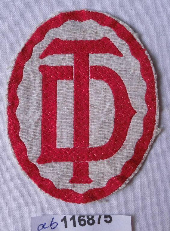 Seltenes Stoff Abzeichen Deutscher Turnerbund um 1930 (116875)