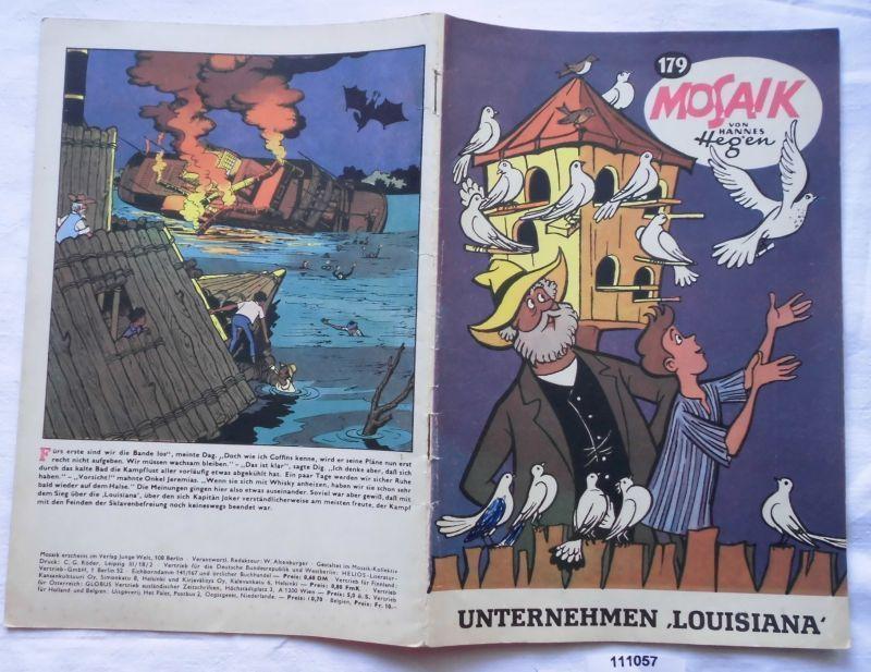 Seltenes Mosaik Heft Hannes Hegen Digedags Nr.179 EXPORT Heft (111057)