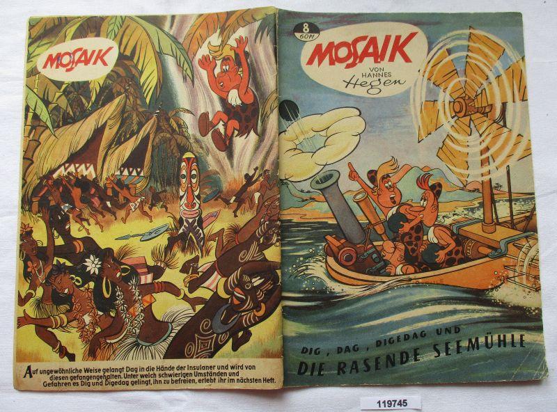 Mosaik von Hannes Hegen Digedag Nummer 8 von 1957 (119745)