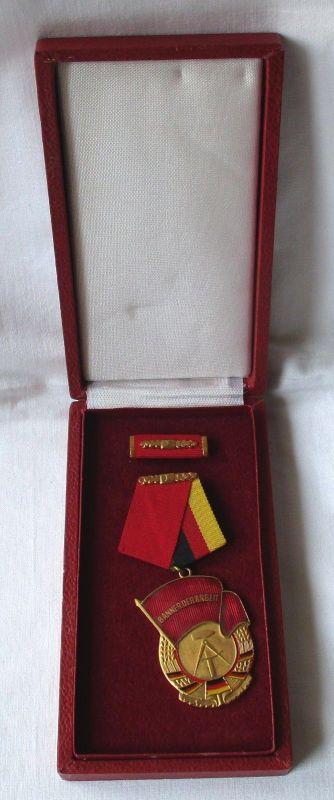 DDR Orden Banner der Arbeit Stufe I im Original Etui (119383)