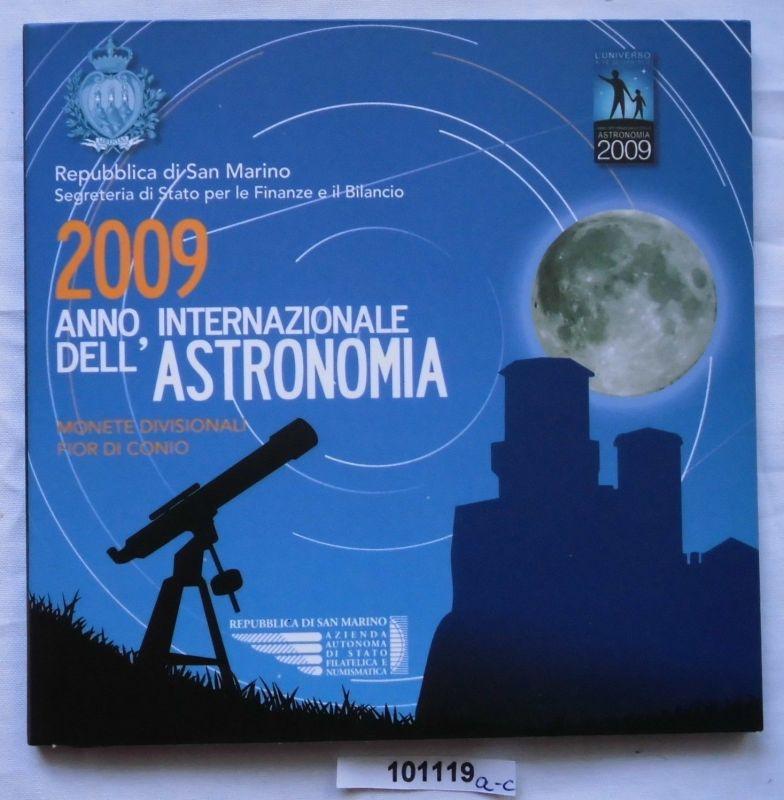 KMS San Marino 2009 mit 5 Euro-Sondermünze im Blister Stgl. (101119)