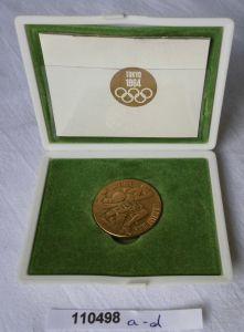 Seltene Medaille XVIII Olympiade in Tokio 1964 im Originaletui (110498)