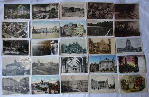 Sammlung  mit 100 Ansichtskarten Leipzig ab etwa 1900 (100328)