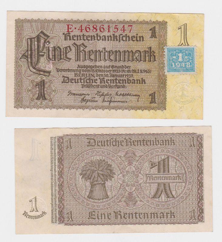 1 Mark Banknote DDR Deutsche Notenbank 1948 Kuponausgabe (103167)