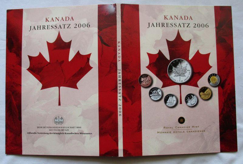 Kursmünzen Jahressatz Kanada 2006 bankfrisch in Originalverpackung (104431)