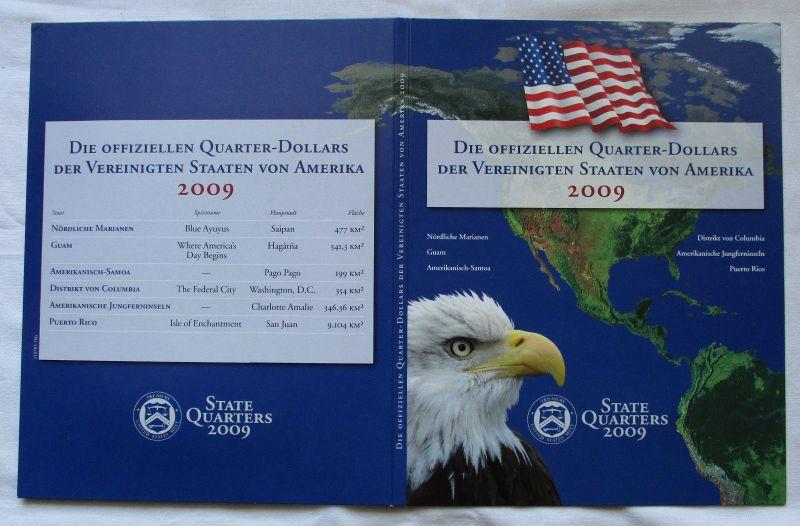 Kursmünzen USA State Quarters 2009 bankfrisch in Originalverpackung (106967)