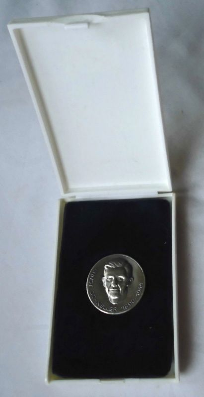 DDR Medaille Ernst Schneller Bezirk Karl Marx Stadt im Etui (118567)
