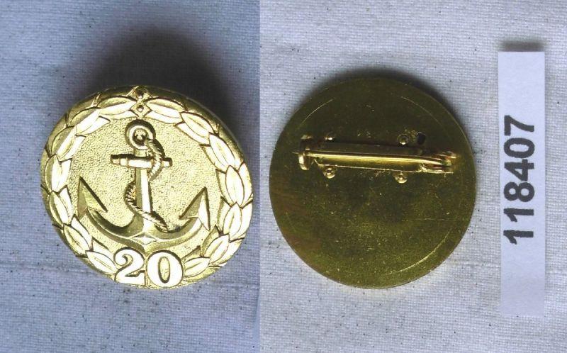 DDR Abzeichen für treue Dienste in der Binnenschifffahrt für 20 Jahre (118407)