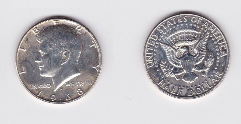 12 Dollar Silber Münze Usa 1968 124606 Nr 332710249823