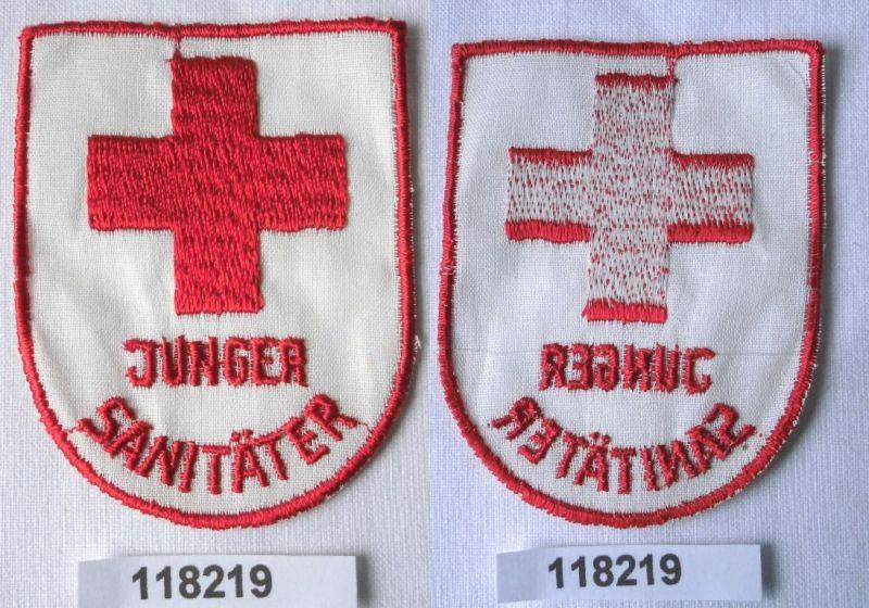 Gestickter DDR Aufnäher DRK Junger Sanitäter (118219)
