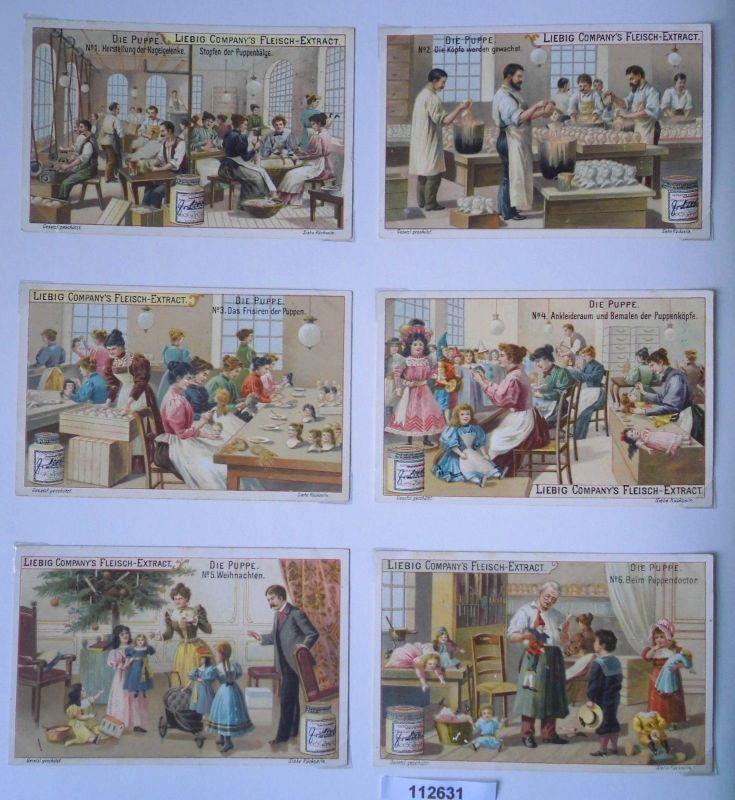 112631 Liebigbilder Serie Nr. 470 Die Puppe 1900