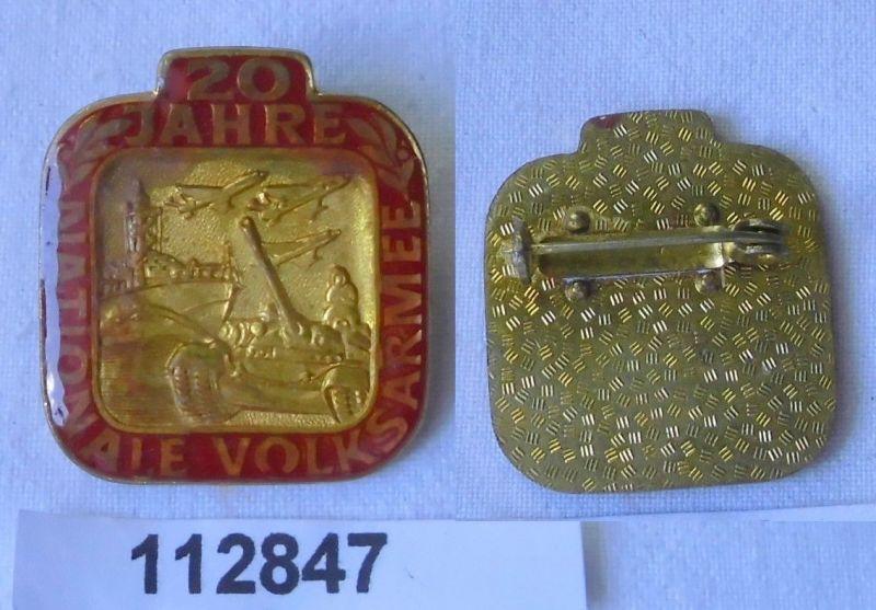 DDR Abzeichen 20 Jahre Nationale Volksarmee NVA (112847)