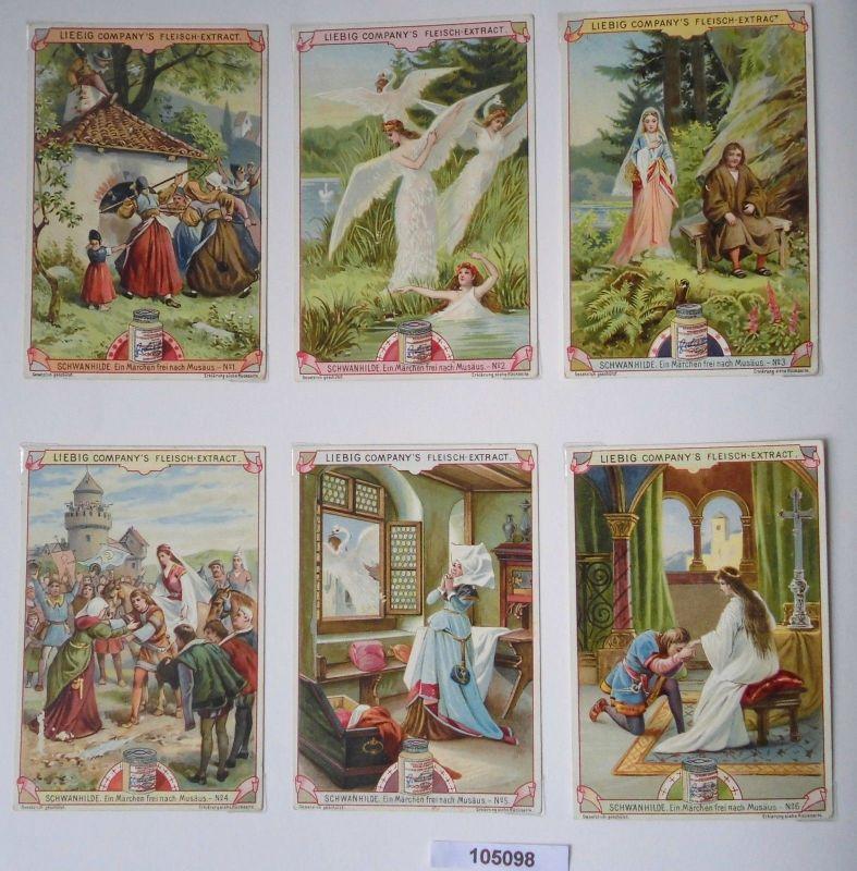 105098 Liebigbilder Serie Nr. 472 Schwanhilde 1900