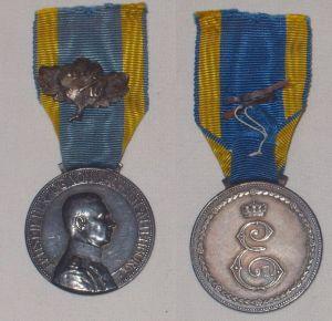 Sachsen Altenburg Herzog Ernst II. Medaille Eichenlaub (BN6795)