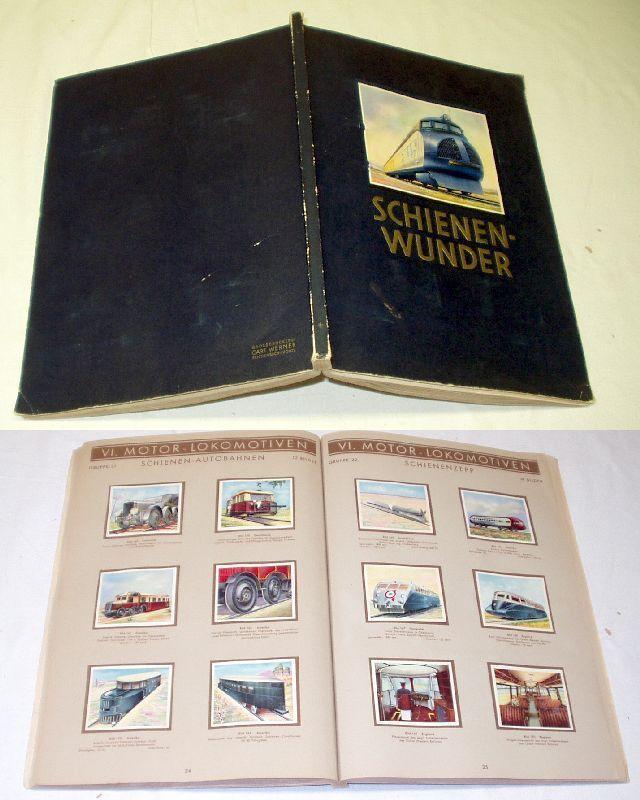 Schienenwunder, Gabarty-Zigarettenfabrik Berlin 1934 (Nr.1858)