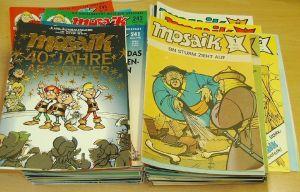 Mosaik Abrafaxe 1/1976 bis 12/1999 komplett (288 Hefte)