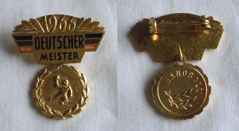 Seltener Orden Deutscher Meister 1966 Handball (116453)