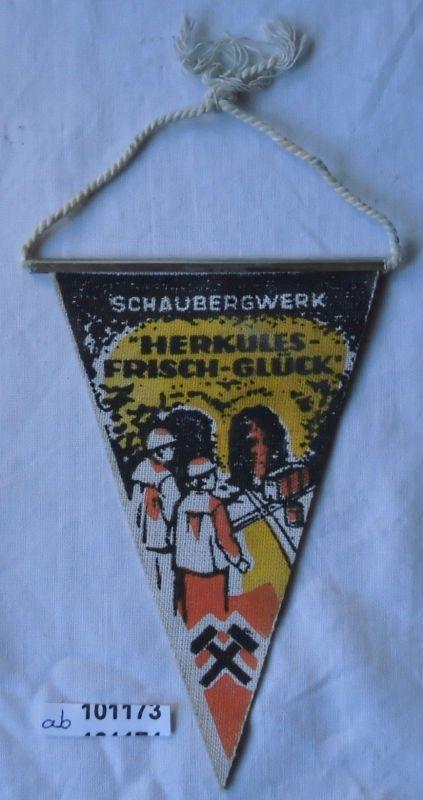 DDR Wimpel Schaubergwerk Waschleithe Erzgebirge