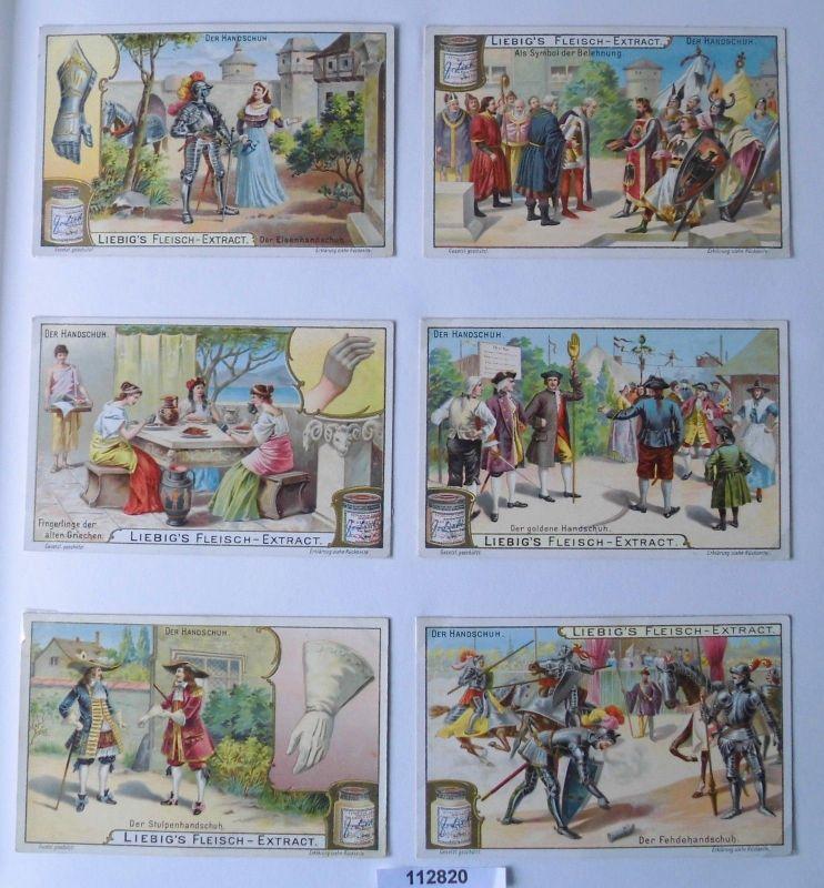 112820 Liebigbilder Serie Nr. 595 Der Handschuh 1904