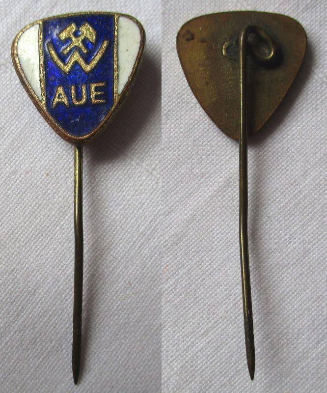 Emaillierte DDR Anstecknadel Sportverein Wismut Aue (119120)