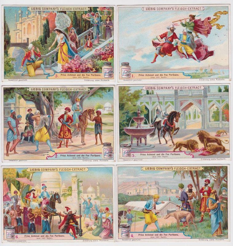 4/120208 Liebigbilder Serie Nr. 507 Prinz Achmed und die Fee Paribanu 1901