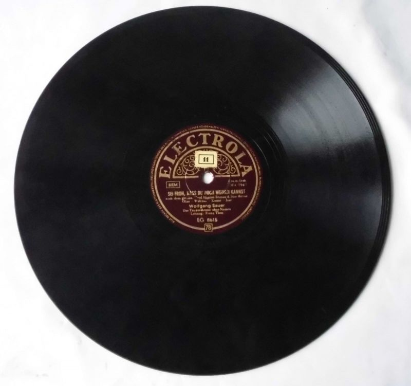 111641 Schellackplatte Electrola