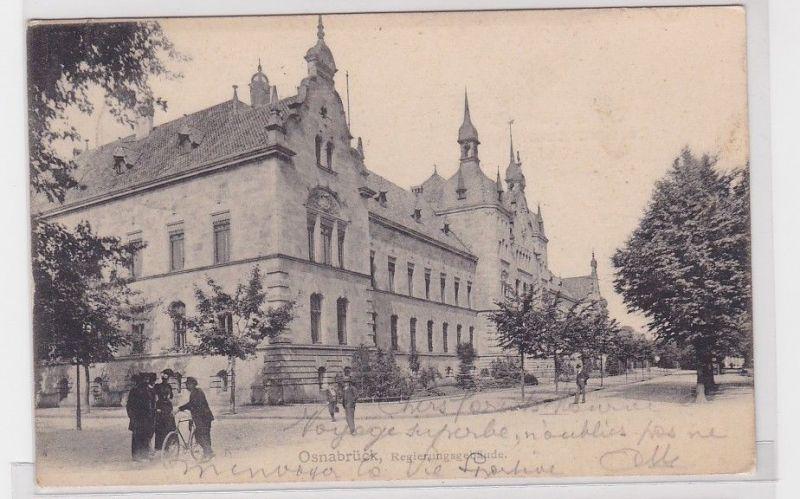 92220 AK Osnabrück - Regierungsgebäude 1904