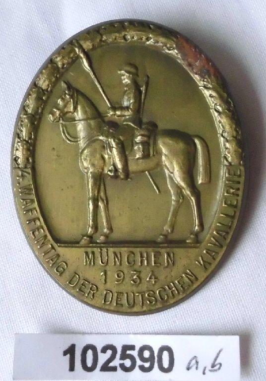 Abzeichen München 4.Waffentag der Deutschen Kavallerie 1934 (102590)