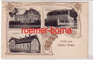 31743 Feldpost Mehrbild Ak Gruß aus Labiau Ostpreussen 1915