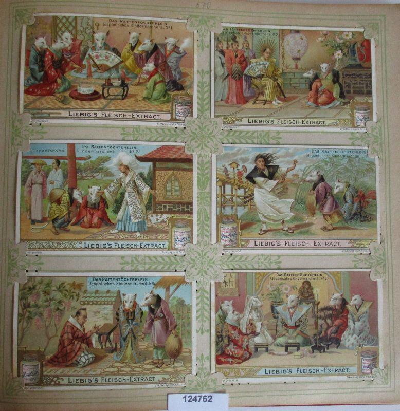 C124762 Liebigbilder Serie Nr. 570 Das Rattentöchterlein 1903