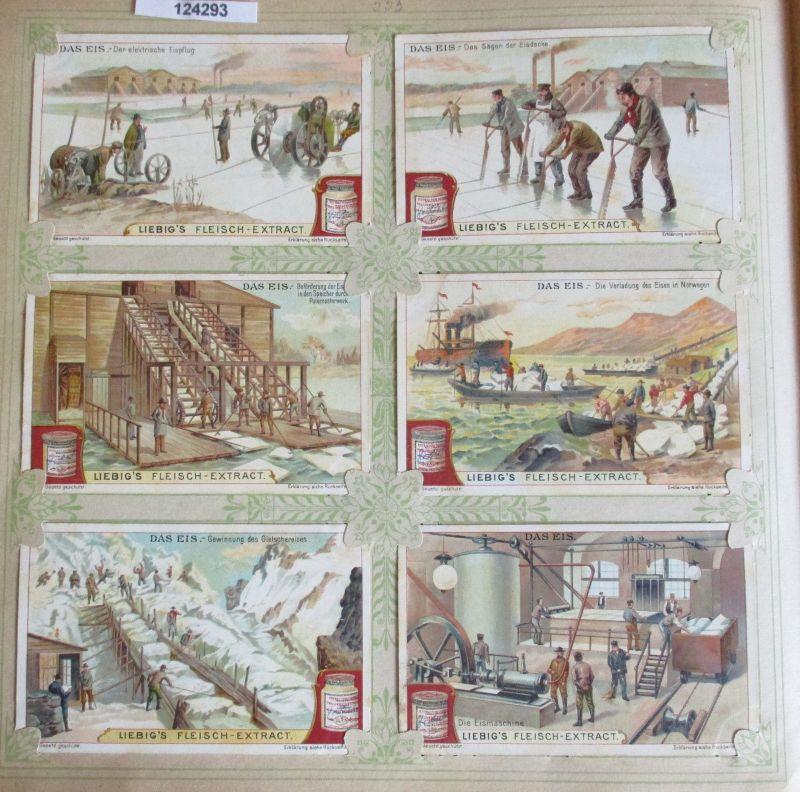 C124293 Liebigbilder Serie Nr. 555 Das Eis 1903