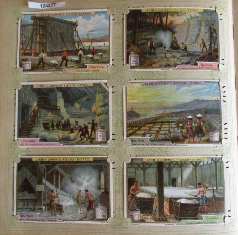 C124377 Liebigbilder Serie Nr. 509 Das Salz 1901