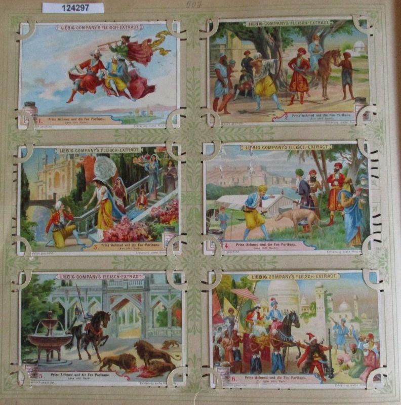 C124297 Liebigbilder Serie Nr. 507 Prinz Achmed und die Fee Paribanu 1901