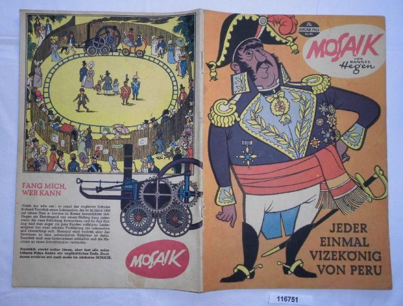 Mosaik von Hannes Hegen Digedag Nummer 74 von 1963 (116751)